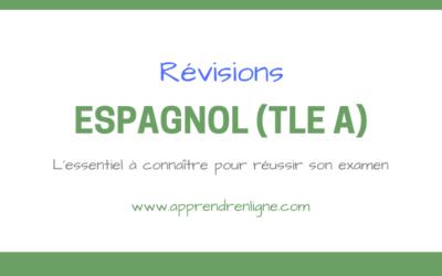 REVISIONS ESPAGNOL (TERMINALE A)